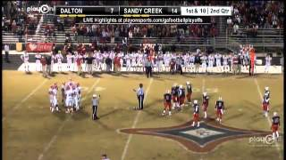 Football - Dalton vs. Sandy Creek
