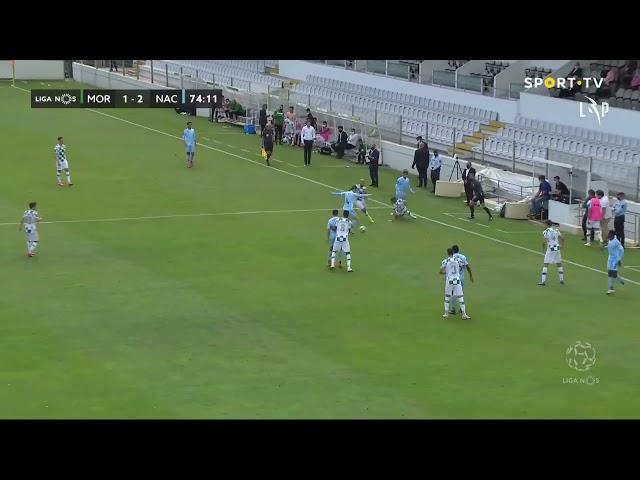 Goal | Golo Rochez: Moreirense 1-(2) CD Nacional (Liga 20/21 #31)