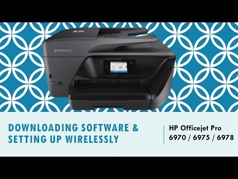 hp officejet pro 6970 6975 6978 download install software and connect wirelessly. Black Bedroom Furniture Sets. Home Design Ideas