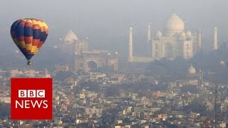 Taj Mahal: 'Dream Location' For Balloon Ride - BBC News