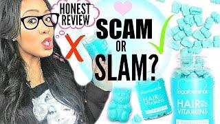 I Tested the Kardashians' Hair Vitamins! Sugar Bear Hair Vitamins Review + HONEST Results  