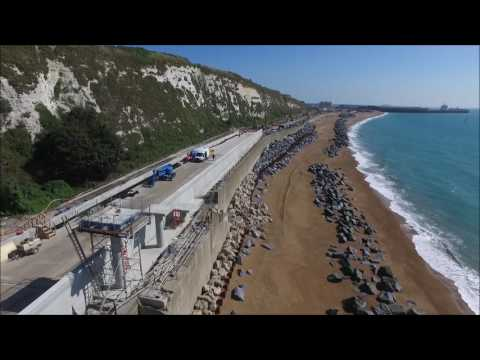 Dover Sea Wall   August 2016