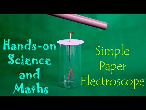 how to make electroscope in hindi