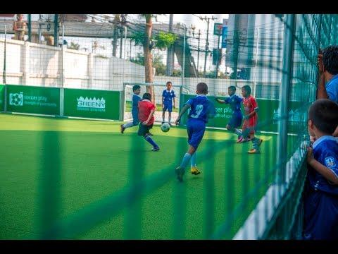 สนามฟุตบอลสำเร็จรูป SOCCER PLAY by greenygrass