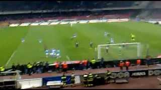 napoli cagliari 6 3 gol di paolo cannavaro live 09 03 2012