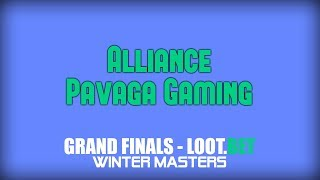 Alliance vs Pavaga Gaming | LOOT.BET Winter Masters