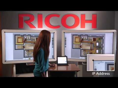 Ricoh D5510 Interactive Whiteboard - Collaboration
