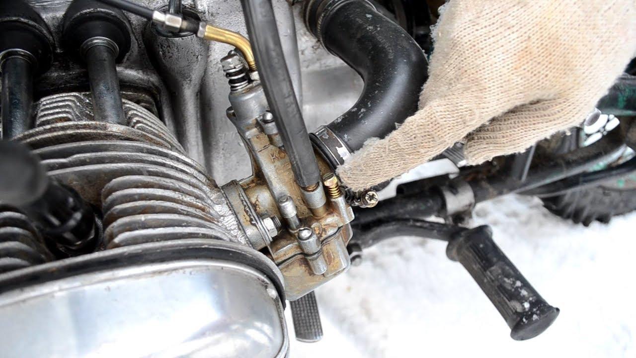 Как отрегулировать карбюраторы на мотоцикле Урал?