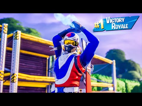 Alpine Ace Skin Solo Win Full Gameplay Fortnite Chapter 2 Season 11 No Commentary PS4 Console