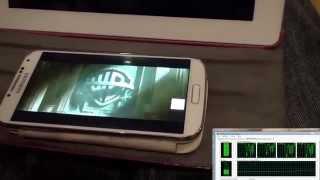 PLEX HTPC - TV/IPAD/ANDROID simultaneous testing 1080p Bluray