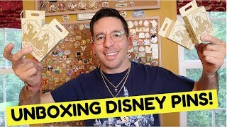 Unboxing MEDIEVAL MAGIC Mystery Disney Pins! | Disney Dragons
