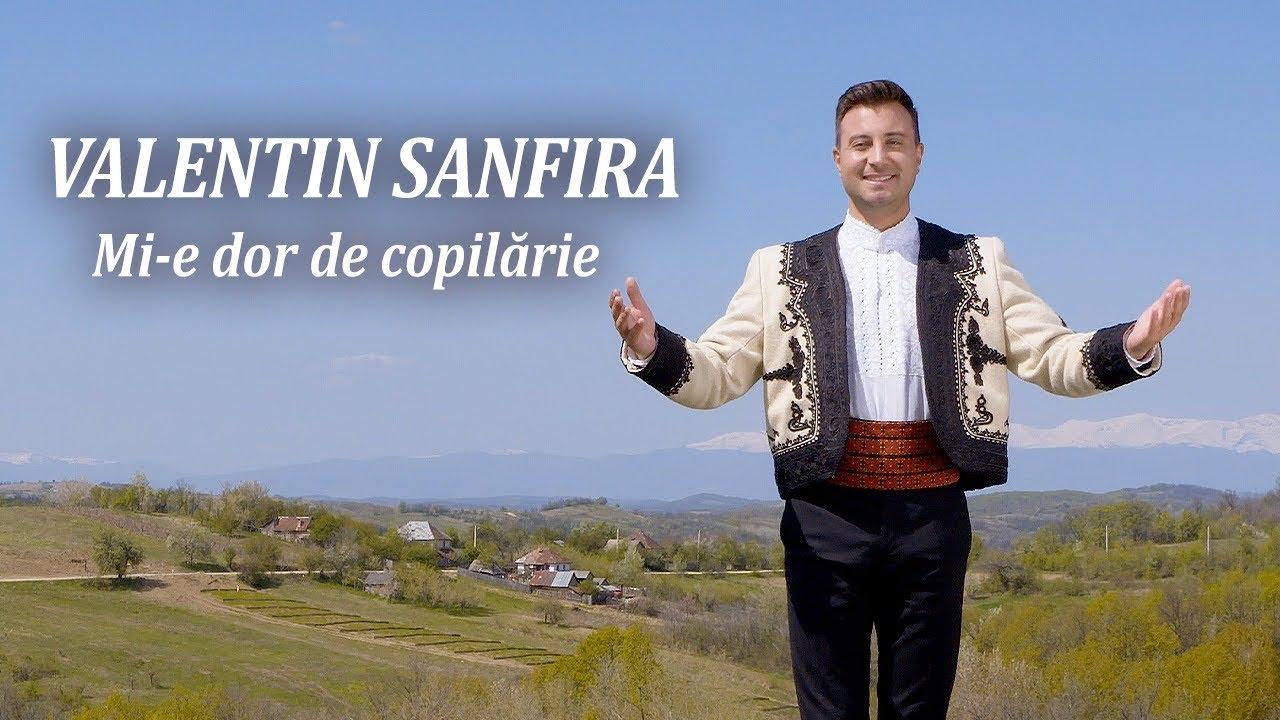 Valentin Sanfira- Mi-e dor de copilărie❗️