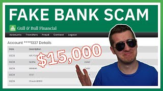 Flirty Scammer Tries Stealing $15,000 From Fake Bank