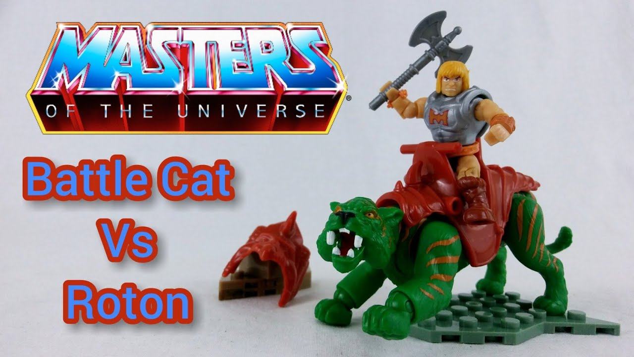 NEW SEALED Lego Masters of the Universe MOTU Mega Construx Battle Cat vs Roton
