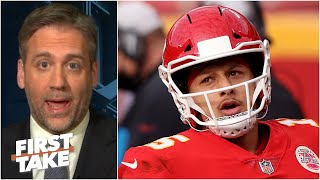 Patrick Mahomes' reputation will be hurt if the Chiefs lose to the Browns - Max Kellerman|First Take