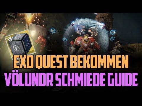 Destiny 2 : Exotische Mission bekommen + Völundr – Schmiede Guide [ Deutsch / German ]