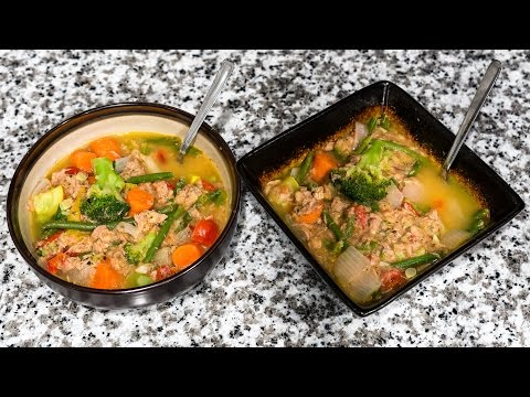 Quick & Cheap Tuna Veggie Soup Dinner For Two