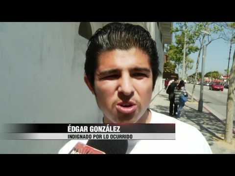 Noticias 22   Fuera de control en Santa Monica Community College