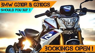 Buying the BMW G310R in INDIA ? | BMW G310R or BMWG310GS | KTM DUKE 390 vs BMW G310R