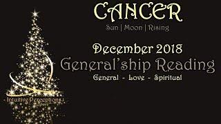 CANCER | Assertive vs. Aggressive? Dec 2018 Love, Spiritual, & General Tarot Reading