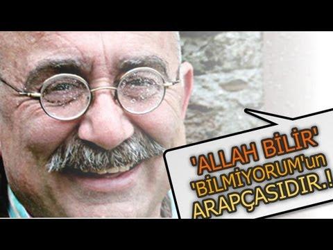 """Sevan Nişanyan: """"'Allah bilir' demek 'Bilmiyorum' demenin Arapçasıdır."""""""