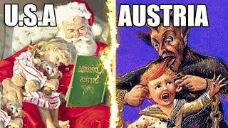 WEIRD Holiday Traditions From Around The World!