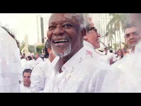 Tributo a Kofi Annan na ONU