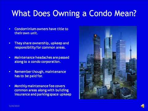 crucial questions to ask when buying a toronto condo #1.wmv