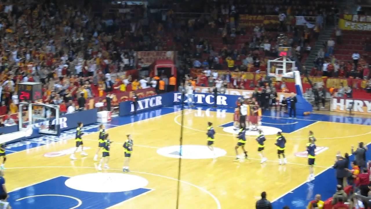 Galatasaray - Fenerbahçe Kadın Basket Playoff Final Maçı ...