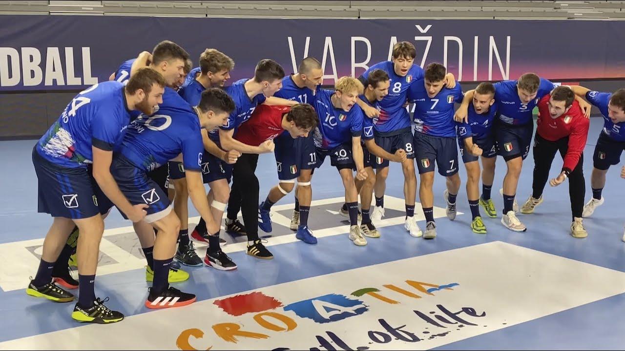 Reset e ripartire: l'Italia chiude il girone degli M19 EHF EURO