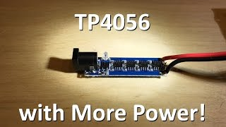 TP4056 with more power! - 12v Solar Shed
