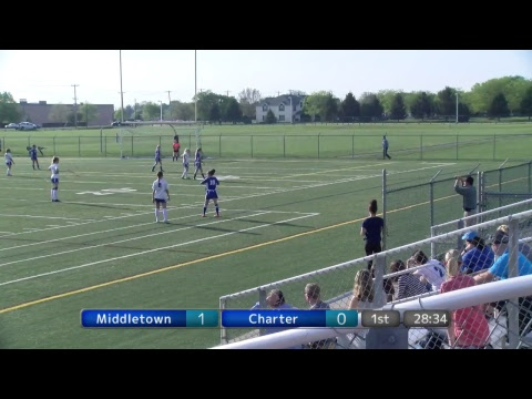 Middletown Cavaliers vs Charter Girls JV Soccer 4/27/2017 1s