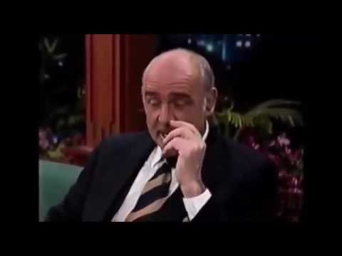 Sean Connery interview on Tonight Show