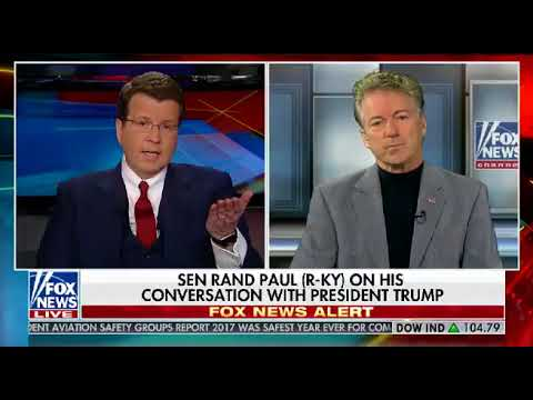 Senator Rand Paul Discusses Ending Foreign Aid To Pakistan