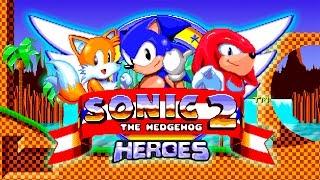 Sonic The Hedgehog 2 Heroes (Sega Mega Drive/Genesis).