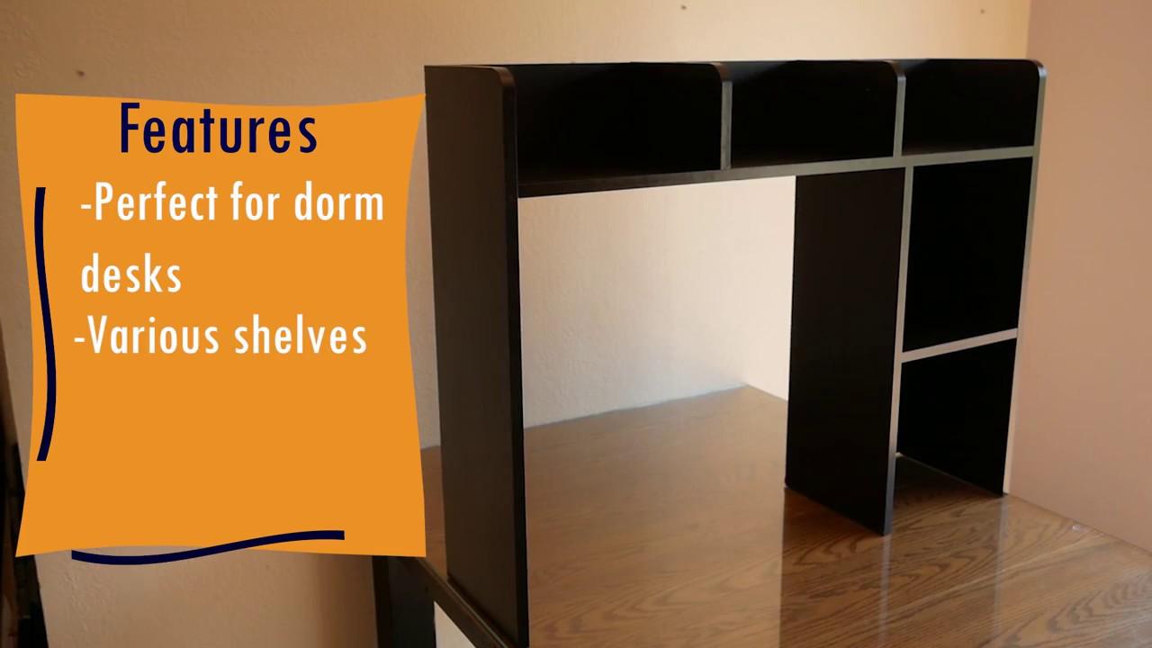 Desktop Shelves For Dorm  Desk Ideas