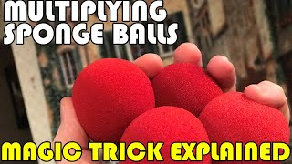 Multiplying Sponge Balls Explained