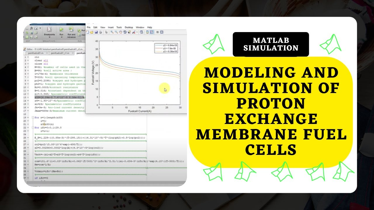 Modeling and Simulation of Proton Exchange Membrane Fuel Cells