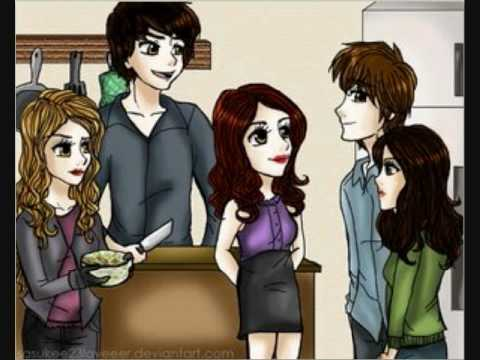 Twilight in cartoons, chibi - YouTube Paramore Youtube