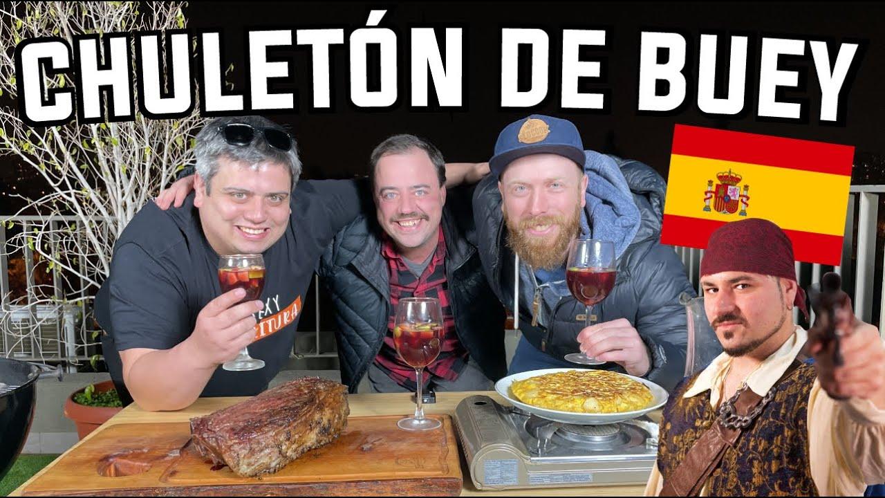 """Chuletón de Buey Gigante """"Parrilla típica Española"""" FT @La Cocina Del Pirata"""