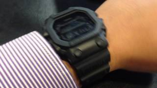 Casio G-Shock Black Out Basic Series GX-56BB-1DR on my wrist