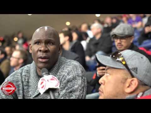 Marcador: Conversacion con Tito Horford en Practicas All Star Game