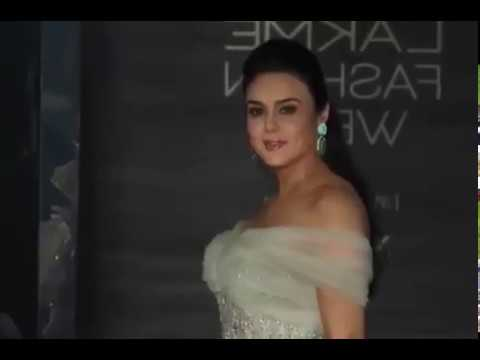Preity Zinta At Lakme India Fashion Week