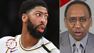 Stephen A. is concerned about Anthony Davis' ability to stay healthy | SportsCenter