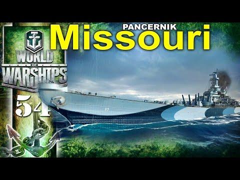 Pancernik Missouri i 1 000 000 zarobku - BITWA - World of Warships