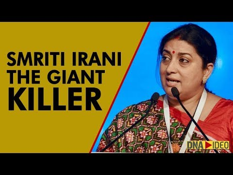 Nothing is impossible: Smriti Irani's rise as a 'giant-killer' in Indian politics