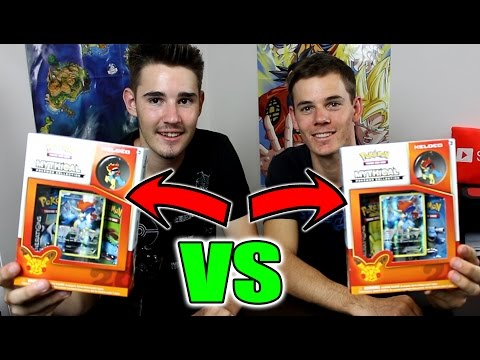 BROTHER..vs..BROTHER!! OPENING 2 POKEMON MYTHICAL GENERATION COLLECTION BOXES + GIVEAWAY!!