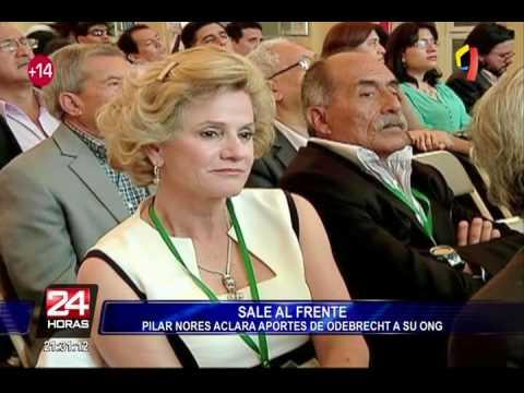 Pilar Nores: Odebrecht aportó en total US$35 mil a ONG