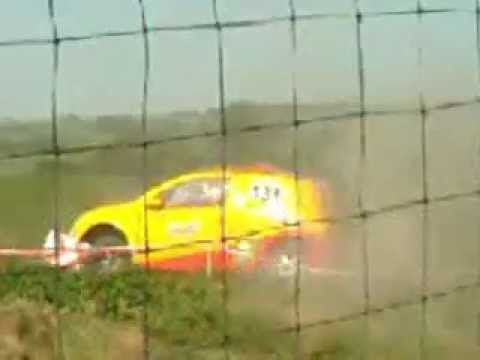 accident c2 rallye jean de la fontaine 2012