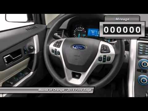 2014 Ford Edge Orange CA 00441915